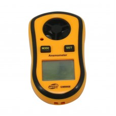 GM8908 Digital Air Flow Wind Speed Meter Gauge Anemometer Weather Airflow Tester