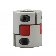 6.35mm to 6.35mm 6.35x6.35mm CNC Motor Shaft Coupling Coupler Diameter 25mm Length 30mm