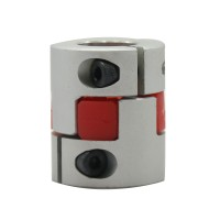 6.35mm to 8mm 6x8mm CNC Motor Shaft Coupling Coupler Diameter 25mm Length 30mm