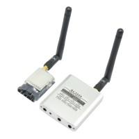 5.8G 200mw Video AV Audio Video Transmitter + RC5808 Receiver Sender FPV 2.0Km Range