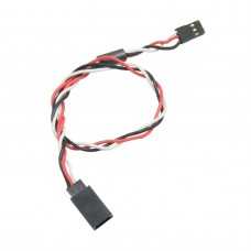 150mm 15cm Servo Extension Lead Wire Cable Anti-interference Cable with Magnet Ring For Futaba JR