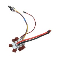 Hexacopter Power Distribution Board PDBfor APM Paparazzi PX4 Opensource Flight Control