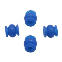 Round High Effeciency Anti-vibration Rubber Ball Damper Ball for Camera Gimbal FPV Blue 4pcs/lot