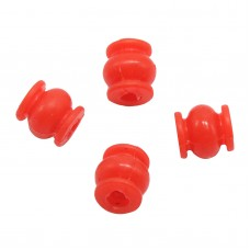 Round High Effeciency Anti-vibration Rubber Ball Damper Ball for Camera Gimbal FPV Red 4pcs/lot