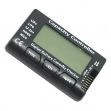 LCD Battery Capacity Checker Tester for 2-7S LiPo LiFe Li-ion NiMH Nicd Battery