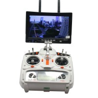 "5.8GHz 32CH Dual-Way Wireless FPV 7"" LCD Diversity Receiver Monitor 5.8g 32channels"