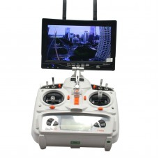 Boscam RX-LCD5802 Monitor 5.8GHz 800x480 LCD Diversity Receiver 7 Inch FPV Monitor
