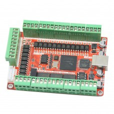 5 Axis 50KHZ Five Axis Stepper Motor Driver Breakout Board USB MACH3 USBCNC Interface Board for CNC Engraving Machine