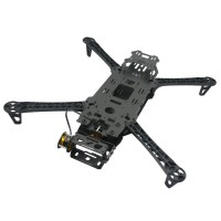 FPV Reptile-550 Gimbal Carbon Fiber Alien 4-Axis Quadcopter Airplane Frame with Gimbal+2PCS Motors