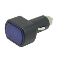 Digital LCD Cigarette Lighter Voltage Panel Meter Monitor Car Volt Voltmeter