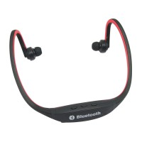 S9 Stereo Wireless Bluetooth 3.0 Headset Earphone Headphone for iPhone 5/4 Galaxy S4/S3 HTC LG Smartphone Red