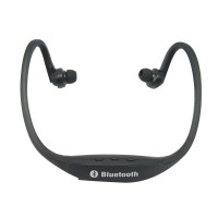 S9 Stereo Wireless Bluetooth 3.0 Headset Earphone Headphone for iPhone 5/4 Galaxy S4/S3 HTC LG Smartphone Black