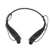 Universal Wireless Bluetooth 3.0 HBS 730 Handsfree Headset Earphone HBS-730 For Phone Black