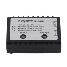 Lipo Battery Charger  BC-3S10 2-3S Simple Balanced Charger 7.4V-11.1V w/ Power Supply