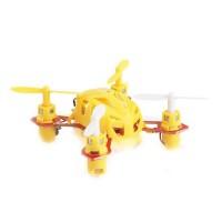 WL V282 single 4CH 6-Axis Nano RC RTF 2.4GHz Toys Minimum Remote Control 3D Rotation Quadcopter Yellow