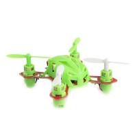 WL V282 single 4CH 6-Axis Nano RC RTF 2.4GHz Toys Minimum Remote Control 3D Rotation Quadcopter Green