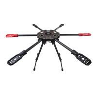 Multicopter Carbon Fiber Retractable Landing Gear for Tarot 680pro FPV Photography