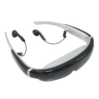 "98"" Video Glasses 720p 16:9 Goggles IVS-II Visual Pirate 3D Theater System"