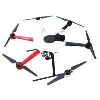 Top-Sky 800 Hexacopter Frame Kit + 3K Full Carbon Fiber Fixed Landing Gear + ESC + Motor + Propeller + Flight Control