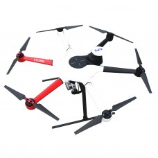 Top-Sky 800 Hexacopter Frame Kit + 3K Full Carbon Fiber Fixed Landing Gear + ESC + Motor + Propeller + YS-X4-P Flight Control
