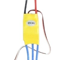 XXD 30A Brushless ESC for Helicopter Quad Hexa Multicopter Fixed Wing(T+3.5 Banana Plug)
