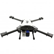 LS-450 Alien Carbon Fiber Quadcopter 450mm Mini Butterfly Multicopter Frame Kit w/ 2 Axis Gopro Gimbal
