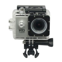 Portable Camcorders SJ4000 Sport Action Camera Full Filmadora HD1080P Waterproof Digital Video Camera Professional Silvery