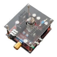 6N11 Hi-Fi Class A Hybrid Tube Stereo Headphone Amplifier Amp + Power DC24V
