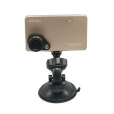 "T161-1 Car DVR Camera Video Recorder 1920*1080P Full HD 2.7"" HD Screen 30FPS G-Sensor Night Vision Super wide Angle 170 Degrees Golden"