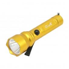 1106 Ultrafire Flashlight Dia14mm Height 500MM Color Series 5W Lamp AA Golden