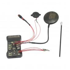 Pixhawk PX4 Autopilot PIX 2.4.6(2.4.5) Flight Controller 32 bit ARM /w NEO-7M GPS for RC Multicopter(with External LED)
