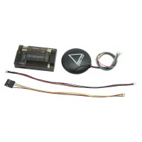 APM2.6 ArduPilot Mega 2.6 APM Flight Control Board Exterbal Compass + NEO-7N GPS for RC Multicopter
