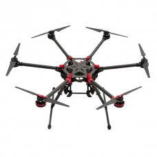 Spreading Wings DJI S900 Folding Hexacopter Highly Portable Frame Kit Powerful Aerial System for Demanding FilmMaker