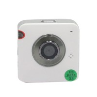 E9000 Smallest P2P HD 720P Multi-function WiFi Camera 30 fps Internet Live Video Monitor Track D5142A