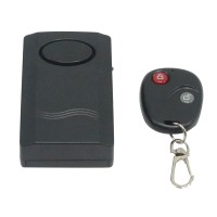 Home Security Wireless Remote Control Vibration Alarm for Door Window 120DB alarm Sound Last About 40S 14623
