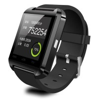 Bluetooth Smart Watch WristWatch U8 Watch for iPhone 4 4S 5 5S Samsung S4 Note 2 Note 3 HTC Android Phone Black/Red/White