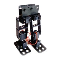 6DOF Biped Robotic Educational Robot Kit Servo Bracket & 6 PCS MG996R Servos & 16 Channel Controller