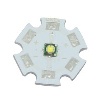 Cree XPE XP-E1W 3W Led Emitter 3.2-3.6V 350mA-1000mA 6000-6500K + 20MM Star Base