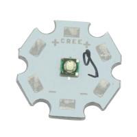 Cree XPE 1W 3W Green Led Emitter 3.2-3.6V 350mA-1000mA 520-530nm + 20MM Star Base