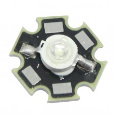 3W Blue LED Chip Emitter Diodes 450NM - 455NM With Star Heatsink For LED DIY Aquarium Light Kit / LED Light
