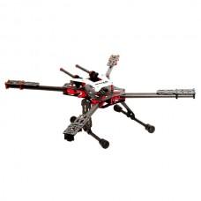 New Quadcopter Folding Aircraft Frame Kit Full Carbon Fiber Alien Wheelbase 550 Black