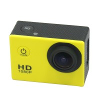 Portable Camcorders SJ4000 Sport Action Camera Full Filmadora HD1080P Waterproof Digital Video Camera Professional Yellow
