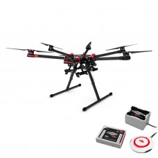 Spreading Wings DJI S900 Folding Hexacopter & WooKong-M WKM Flight Control for Demanding FilmMaker