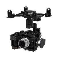Instock Zenmuse DJI Z15 GH4 HD 3 Axis Professional Brushless Gimbal System for Panasonic GH4 GH3 Camera