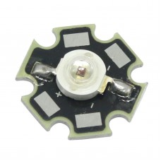3w Red 660nm Led Chip 90degree for Diy Plant Growing Light with Heatsink
