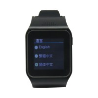 L19 Watch Phone With Quad Band Single Cards Single Standby Single Camera Bluetooth WIFI Black