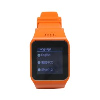 L19 Watch Phone With Quad Band Single Cards Single Standby Single Camera Bluetooth WIFI Orange