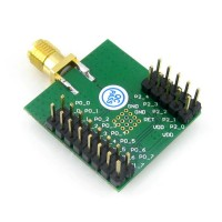 CC2530F256RHAR cc2530 Zigbee Wireless Module Zigbee Module Development Board Attached to the Antenna