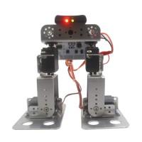 New Biped Walking Robot Servo Bracket Humanoid Legs Bigfoot Frame Kit