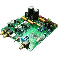 ES9018 Soft /Hard Controlled Top USB DAC decoder KIT 4 Layers Include LCD Combo(ES9018 not included)